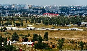 Voronezh Malshevo (air base) - Image: Территория аэродрома Балтимор