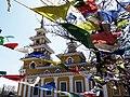 Храм (сюме) калмыцкий Хошеутовского хурула, Речное, Астраханская область, вид со стороны села.jpg