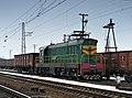 ЧМЭ3-2908, Украина, Днепропетровская область, станция Вольногорск (Trainpix 47587).jpg