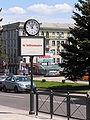 Часы у памятника Шевченко.jpg