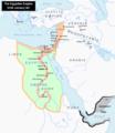 خريطة تقريبية تبين الموقع المحتمل لبلاد البنط بونت المنتج للبخور.png