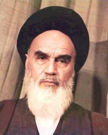 عکسی از خمینی