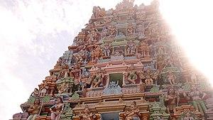 Pancha Ishwarams - Image: ஈழத்து திருக்கேதீஸ்வர ஆலய கோபுரம் (மன்னார்)