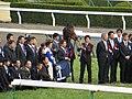 ロードカナロア引退式 - 京都競馬場 - Retirement ceremony of Lord Kanaloa - Kyoto Racecourse (12050227323).jpg