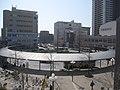 阪急 西宮北口駅ロータリー Hankyu Nishinomiya-Kitaguchi Sta. Bus stop - panoramio.jpg