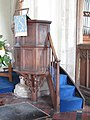 -2019-12-05 The pulpit, St Mary's, Northrepps.JPG