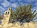 012 Monestir de Sant Cugat del Vallès, façana sud, campanar.JPG