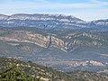 013 La serra Grossa i, al fons, el Montsec de Rúbies, des de Montsonís.JPG