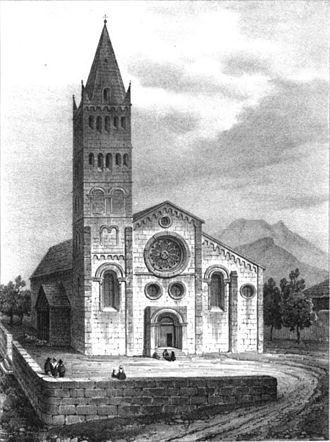 Ignace Caseneuve - Cathédrale Notre-Dame d'Embrun.