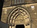 045 Sant Pere i Sant Pau, timpà del portal central.jpg