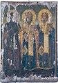 067 Saint Gerasimos of Corfu and Saint Spyridon and Saint Dionisios of Zakinthos Icon from Saint Paraskevi Church in Langadas.jpg