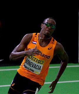 Liemarvin Bonevacia Dutch sprinter