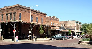 Old Market (Omaha, Nebraska) - The intersection of Howard and 11th Streets in the heart of the Old Market.