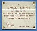 09 Liceo Ariosto Ferrara - Giorgio Bassani.jpg