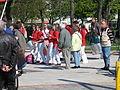 1. Mai 2013 in Hannover. Gute Arbeit. Sichere Rente. Soziales Europa. Umzug vom Freizeitheim Linden zum Klagesmarkt. Menschen und Aktivitäten (155).jpg
