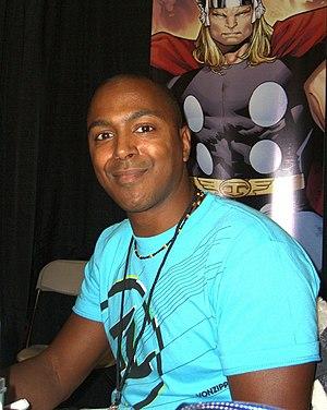 Olivier Coipel - Coipel at the New York Comic Con in Manhattan, October 10, 2010