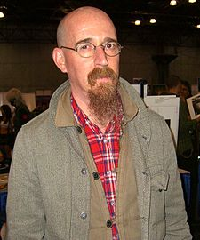 Brian Azzarello na New York Comic Con v roce 2011.
