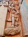11th 12th century Iswara temple, Kamaleshwara Kalleswara Kamlishvara, Jalasangvi Karnataka India - 37.jpg