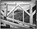 12. CONCENTRATION MILL FRAMING DETAIL, LOOKING NORTHWEST - Kennecott Copper Corporation, On Copper River ^ Northwestern - LOC - hhh.ak0003.photos.000985p.jpg