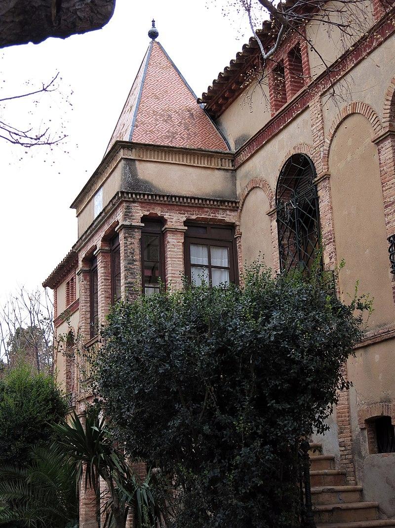 128 Cal Garcia (Llorenç del Penedès), mirador, façana oest.JPG