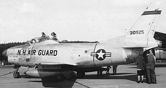 133d Air Refueling Squadron - 133d FIS North American F-86L, 53-0925, 1959