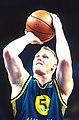 141100 - Wheelchair basketball Troy Sachs free throw - 3b - 2000 Sydney match photo.jpg