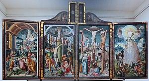 Jerg Ratgeb - Image: 1520 Ratgeb Herrenberger Altar anagoria