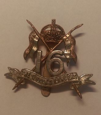 16th The Queen's Lancers - Badge of 16th The Queen's Lancers