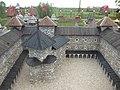 180731 Dinnyés Várpark (99de) A székesfehérvári vár makettjének egy részlete.jpg