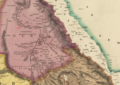 1831 Dongola map Africa by Tanner BPL m0612002 detail.png