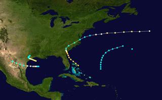 1854 Atlantic hurricane season hurricane season in the Atlantic Ocean