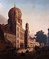 1865 de Cauwer Die Synagoge in der Oranienburger Strasse Berlin anagoria.JPG