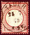 1873 Reich 1Gr Tauer Brandenburg Mi19.jpg