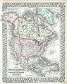 1874 Mitchell Map of North America ^ the United States - Geographicus - AmerNorth-m-1874.jpg