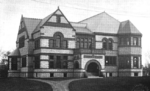 1899 Northampton Forbes public library Massachusetts.png