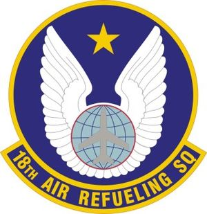 18th Air Refueling Squadron - 18th Air Refueling Squadron Patch