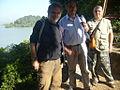 19.Etiopia lago Tana i 3 partecipanti.JPG