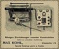 1904 advertisement - Röntgen Einrichtungen neuester Kontruktion.jpg