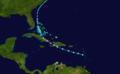 1910 Atlantic tropical storm 1 track.png