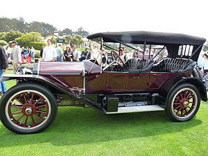National Motor Vehicle Company - 1913 National Series V-N3 Tonneau