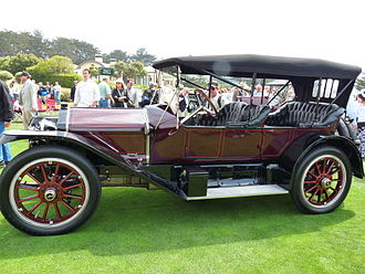 National Motor Vehicle Company - 1913 National Series V-N3 Tonneau