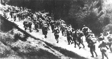 1916 trecerea muntilor