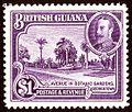 1934 1$ BrGuiana Yv154.jpg