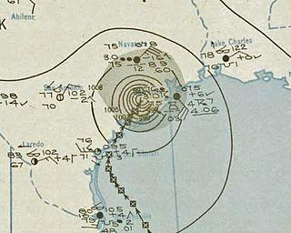 1945 Texas hurricane