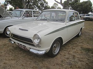 Lotus Cortina - 1963 Ford Consul Cortina developed by Lotus
