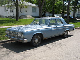1964 Plymouth Savoy four-door sedan.jpg