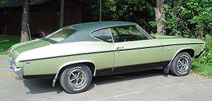 Super Sport (Chevrolet) - 1969 Chevrolet Chevelle SS396
