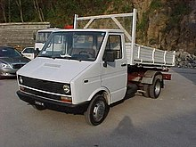 Iveco Daily versione pick-up