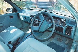 Holden Commodore (VL) - Interior