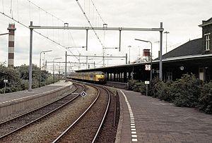 Schiedam–Hoek van Holland railway - Image: 19910908a Hoek van Holland